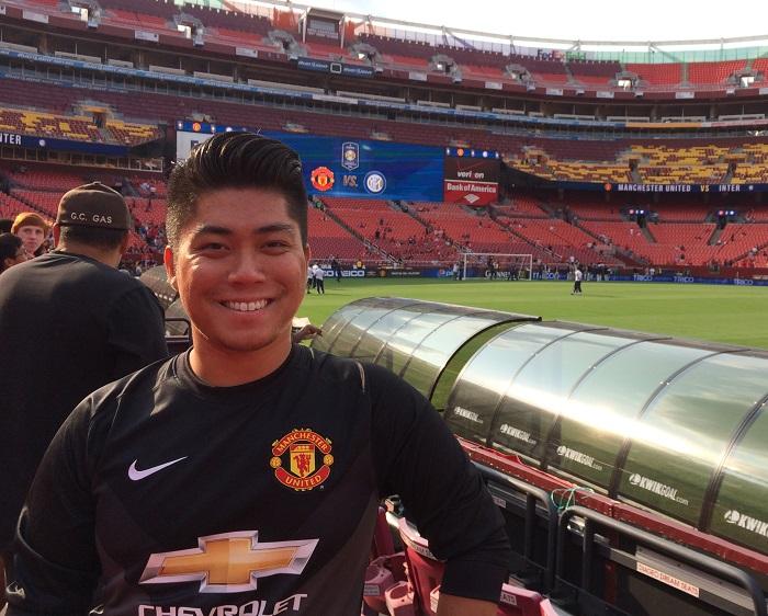 Man Utd goalie kit 14/15 in black
