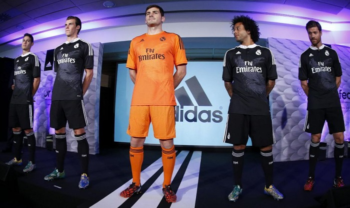 New Real Madrid 3rd kit 2014/15