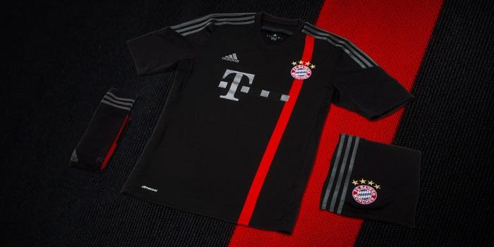 FC Bayern 3rd kit 2014/15