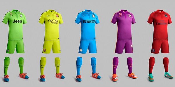 Nike 3rd kits 2014/15