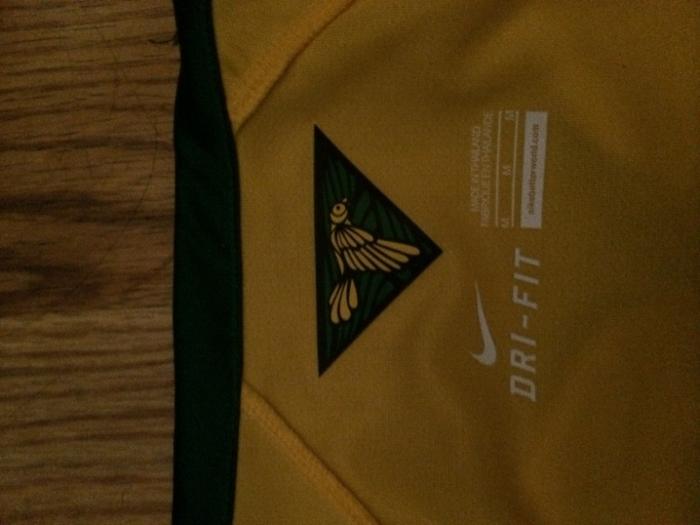Brazil Canarinha inside collar