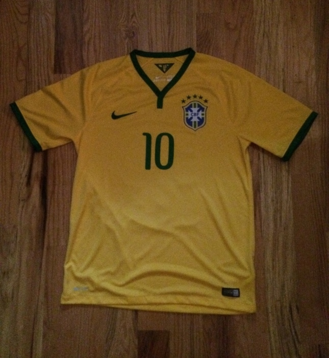 Brazil home jersey 2014 front