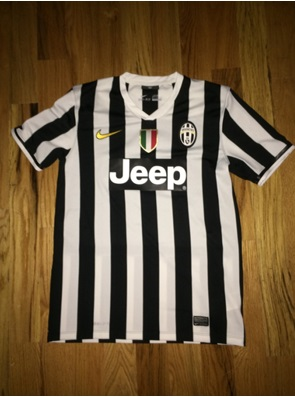 Juve home shirt flat