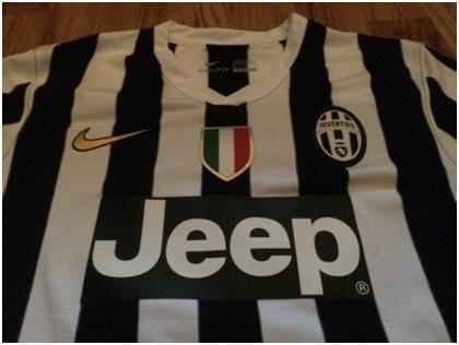 Juve 13/14 home shirt Scudetto