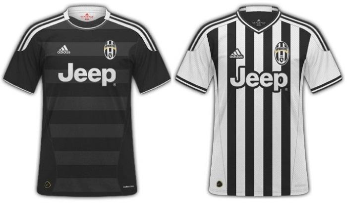 Adidas Juventus kits 2015/16