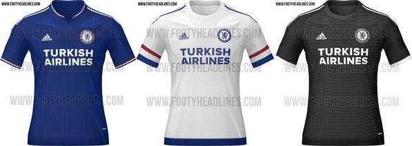 New Chelsea kit 2015/16