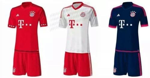 Bayern soccer jerseys 2015/16