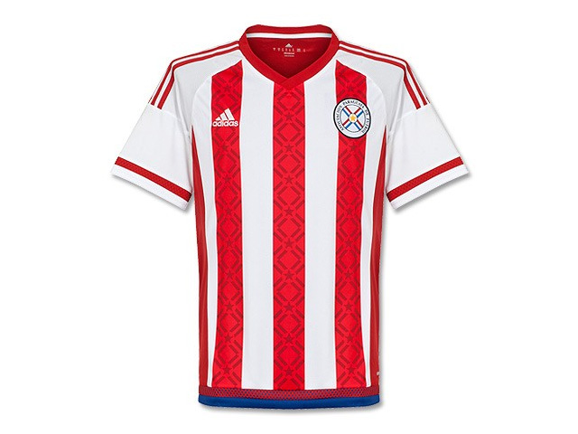 Paraguay home jersey 2015/16