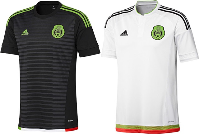 Mexico jerseys Copa America 2015