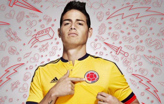 Colombia jersey 2015 Copa America