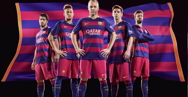 FC Barcelona home kit 2015/16