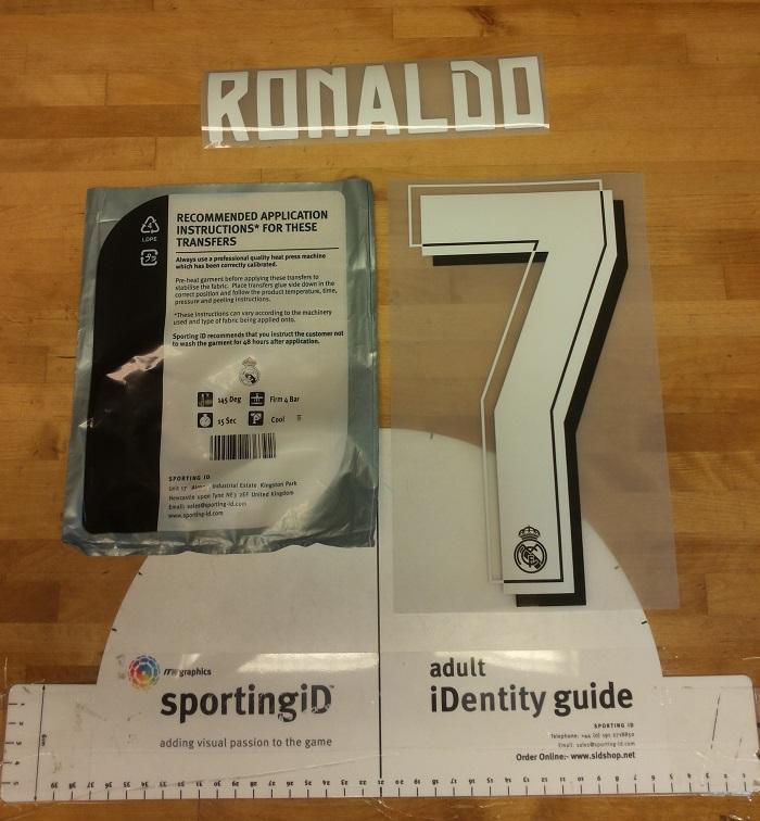 Real Madrid away printing 15/16