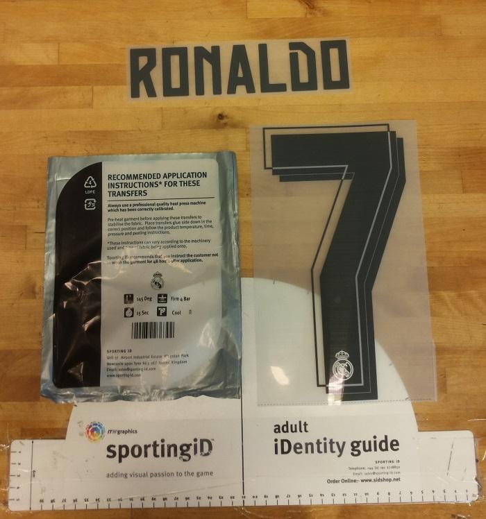 Real Madrid 15/16 home printing