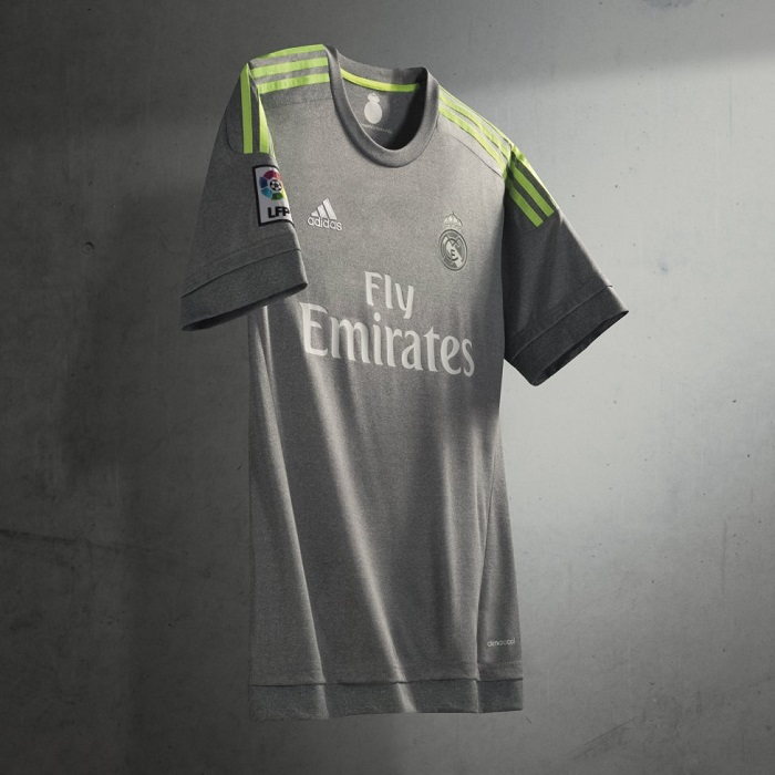 Real Madrid away jersey 15/16