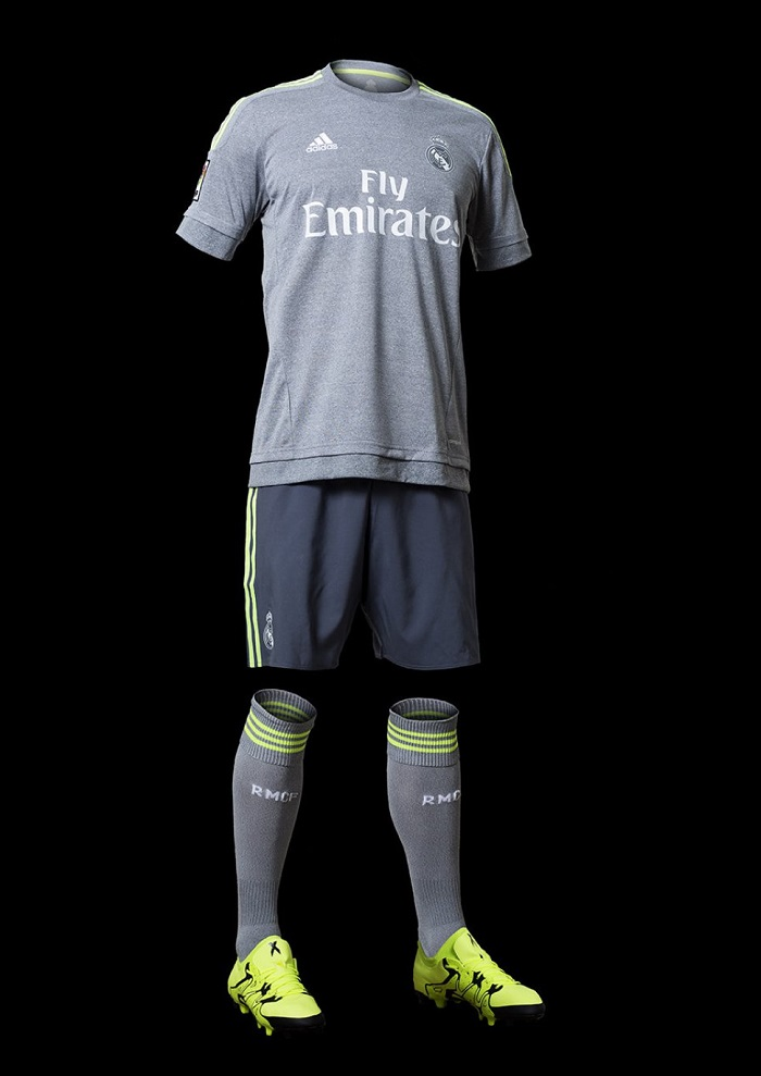Full Real Madrid away kit 15/16