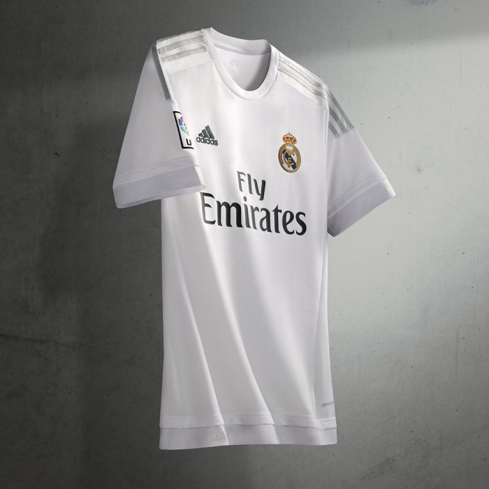 Real Madrid home jersey 15/16