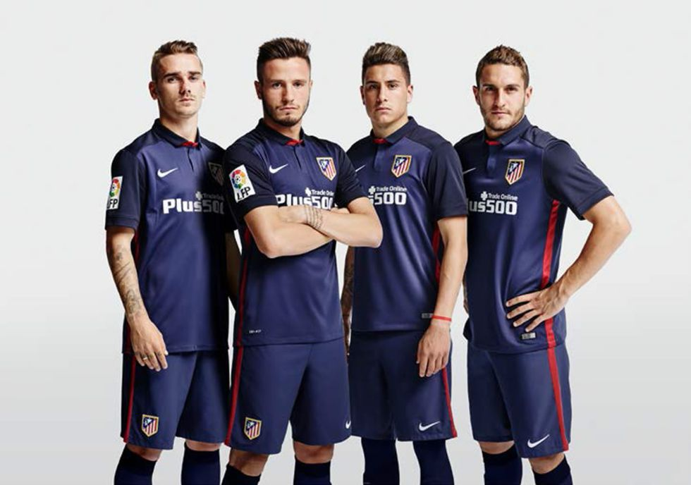 Atletico Madrid away kit 15/16