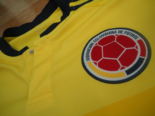 Colombia soccer jersey crest