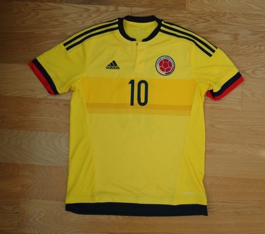 Colombia home jersey number 10