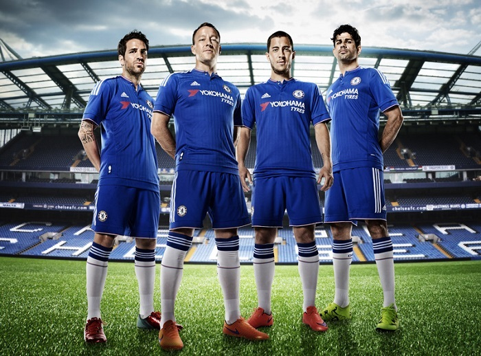 Chelsea home jersey 15/16