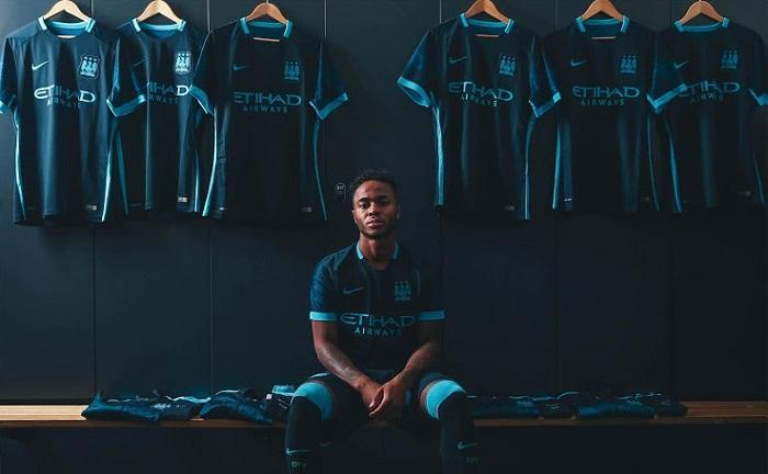 Manchester City away jersey 15/16