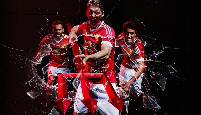 New Man Utd home jersey 2015/16