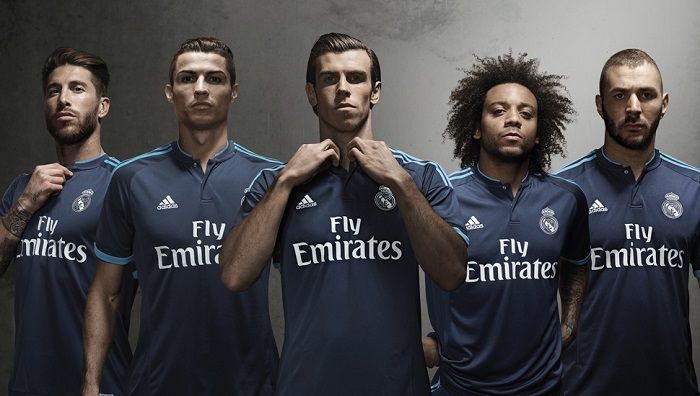Real Madrid third jersey 2015/16