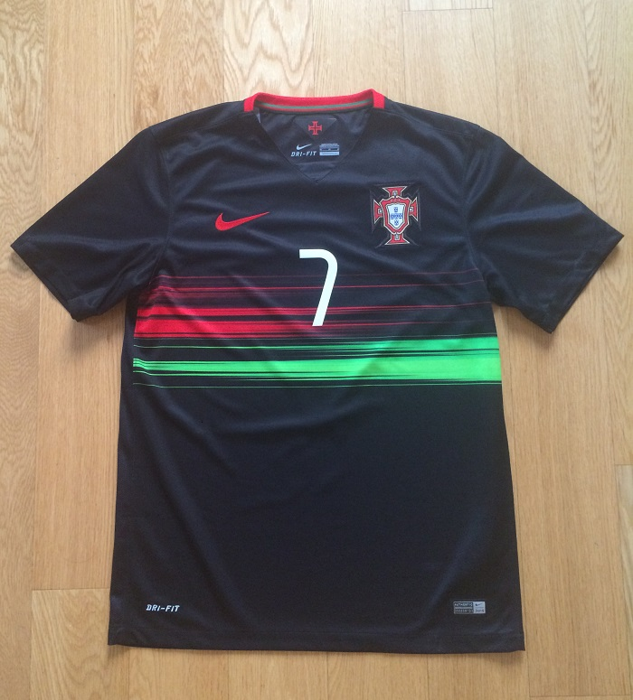 Portugal away jersey - front number 7