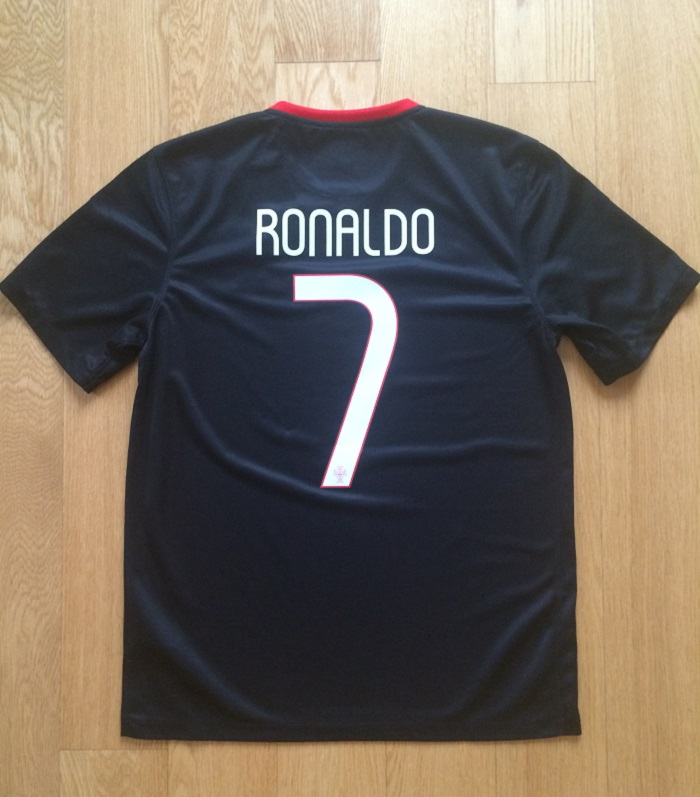 Portugal away shirt - printing