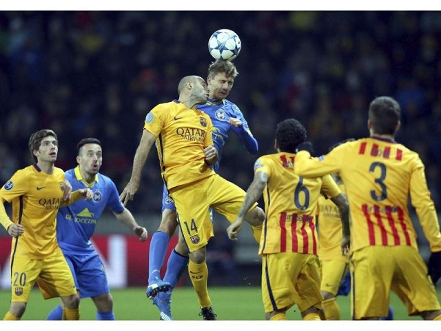 FC Barcelona yellow shorts