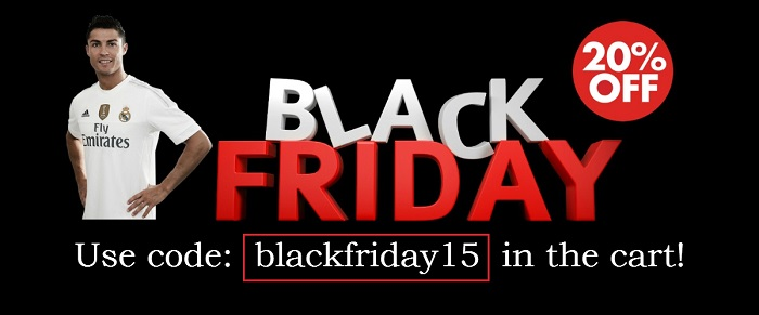 Black Friday 2015 campaign!