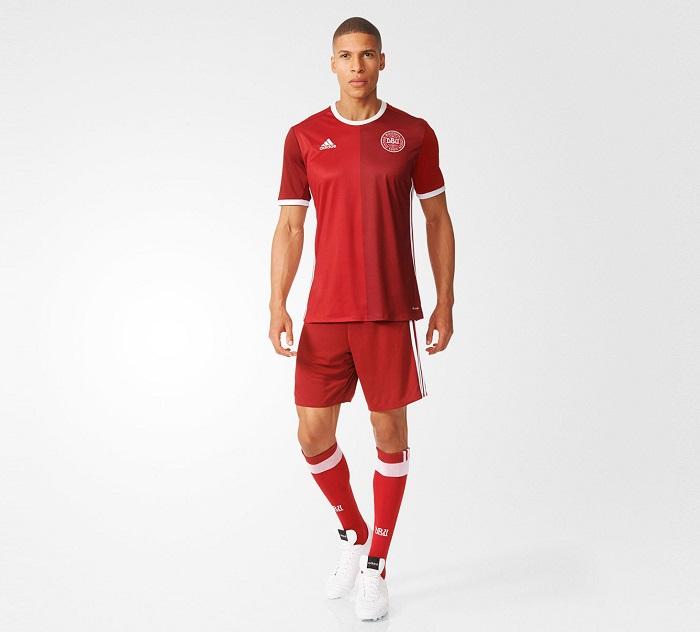 Danmark jersey, shorts, socks
