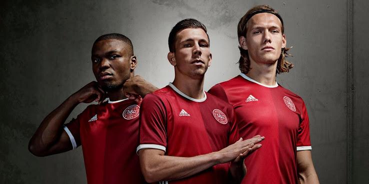 Denmark EURO 2016 home jersey