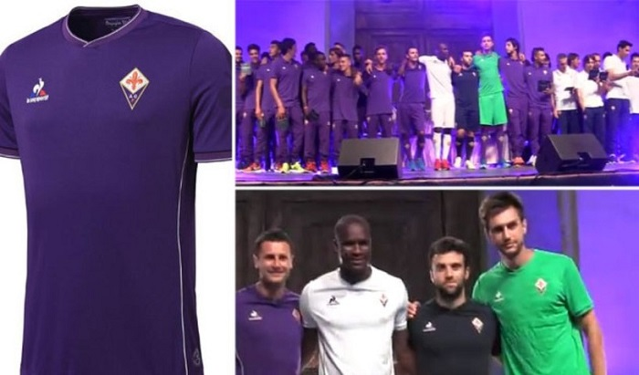 Fiorentina home kit 15/16