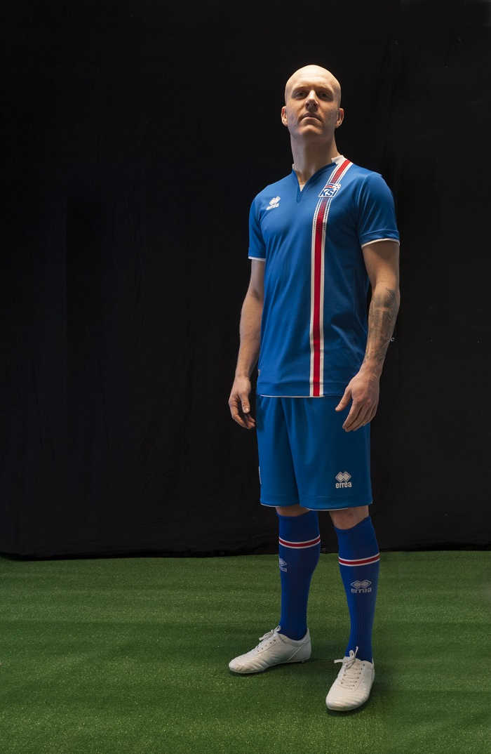Iceland home jersey 2016