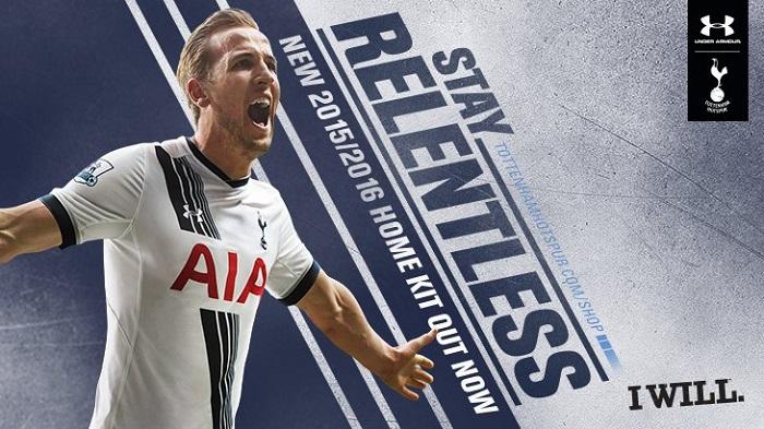 Tottenham home kit 2015/16