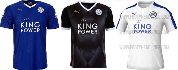 Leicester kits 2016/17