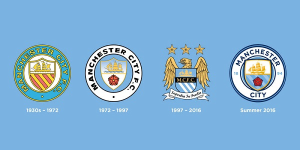 New Man City club crest 2016