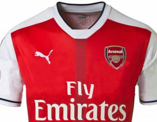 Arsenal home jersey 16/17