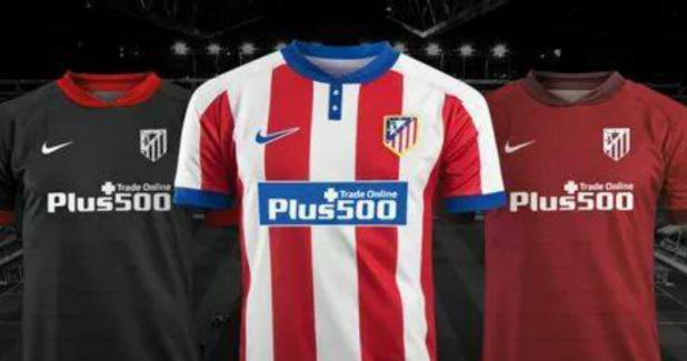 Atletico Madrid soccer kits 16/17