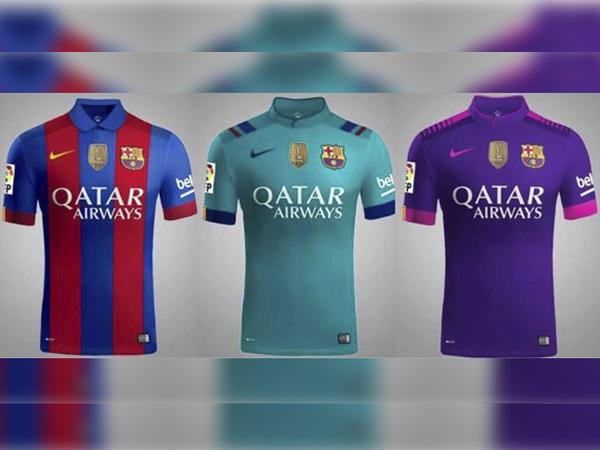 FC Barcelona soccer kits 2016/17