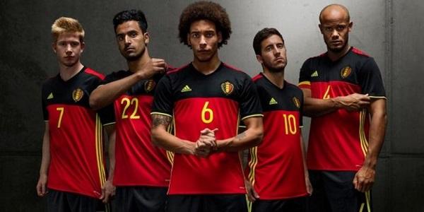 Belgium home kit EURO 2016