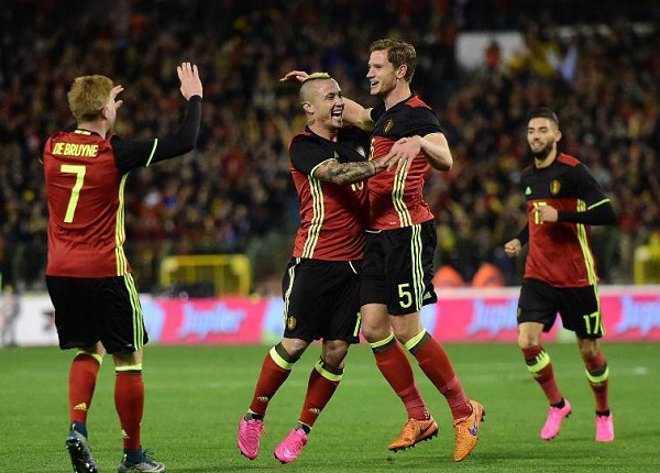 Belgium home print EURO 2016