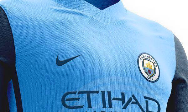 Manchester City home jersey 16/17