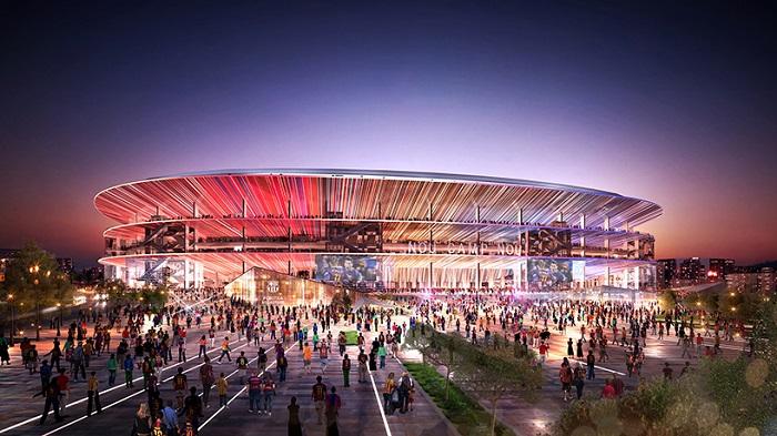 New Camp Nou Stadium Barcelona