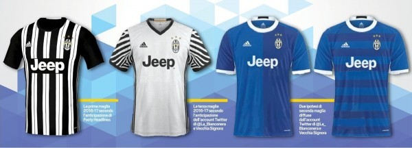 Juventus home jersey 2016/17