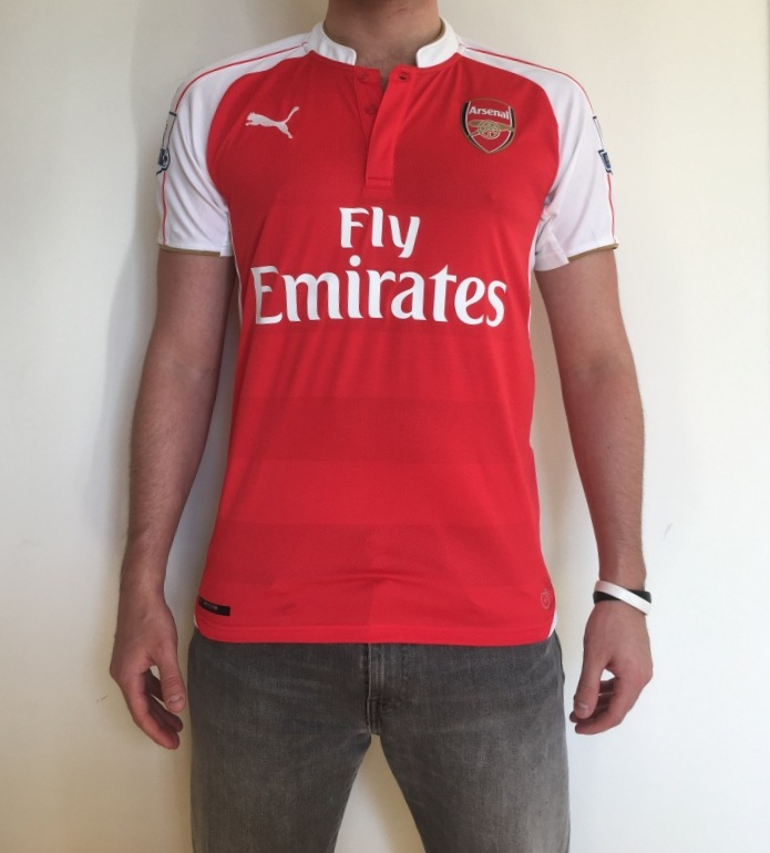 Arsenal home jersey front