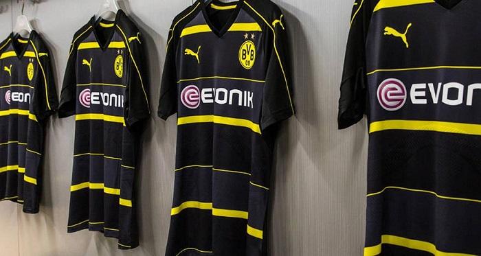 Dortmund away jersey 2016/17