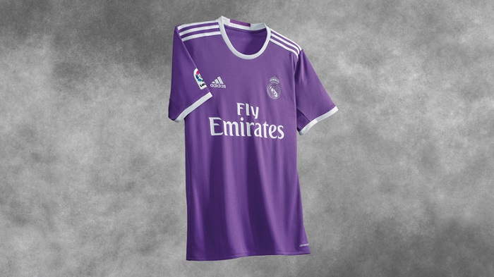 Real Madrid away jersey 16/17