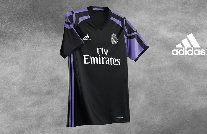 Real Madrid third jersey 2016/17